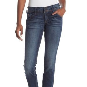 Womens Hudson Jeans 28 Collin Flap Skinny no flaws
